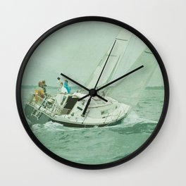 Sail Wall Clock