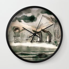hail to the thief Wall Clock