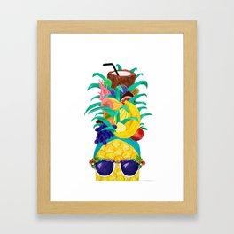 Chiquita Pineapple Framed Art Print