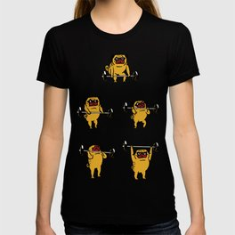 Clean and Jerks Pug T-shirt