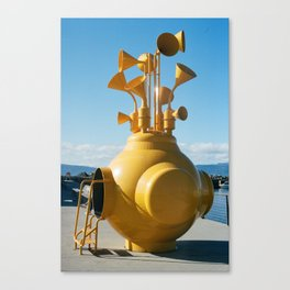 Yellow Thing Canvas Print