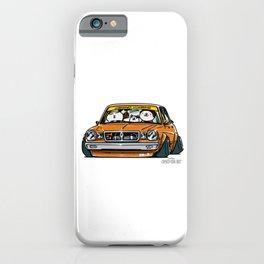 Crazy Car Art 0146 iPhone Case
