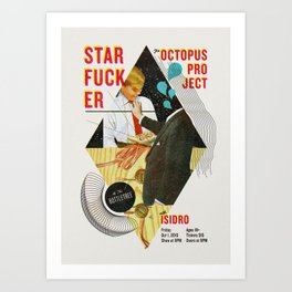 The Octopus Project and Starfucker at the Bottletree Art Print