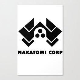 Nakatomi corp Canvas Print