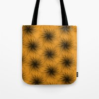 shadow Tote Bags featuring Shadow by Looly Elzayat