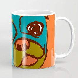 Pickle- turquise/orange Coffee Mug