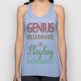 GENIUS TONY Unisex Tank Top