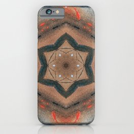Bushfire Gum Medallion 14 iPhone Case