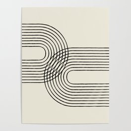 Arch duo 2 Mid century modern Poster