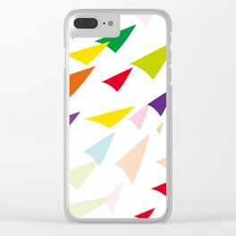 colored arrows Clear iPhone Case