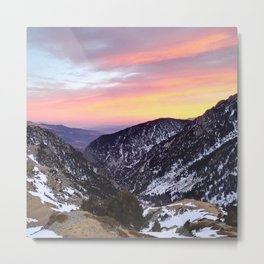 fantastic mountains Metal Print