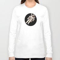astronaut Long Sleeve T-shirts featuring Astronaut by Kristin Frenzel