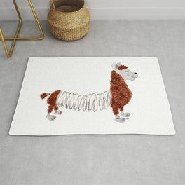 Slinky Llama Rug