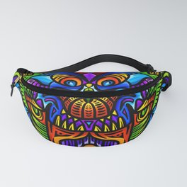 Jungle Genie Psychedelic Tapestry Fanny Pack