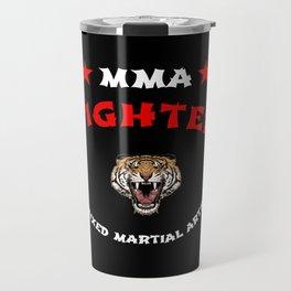 MMA Fighter Tiger Travel Mug