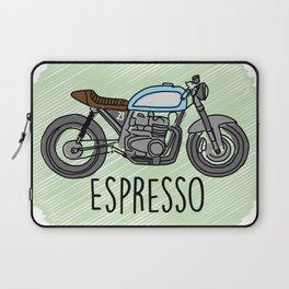 Espresso - Cafe Racer Laptop Sleeve