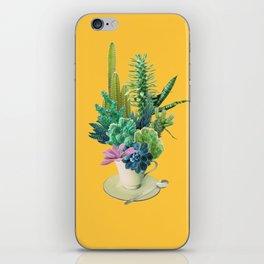 Arid garden iPhone Skin