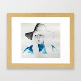 Hey girl! Framed Art Print