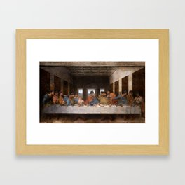 THE CONNER SUPPER [FEDORA EDITION] Framed Art Print