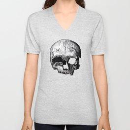 Skull 8 Unisex V-Neck