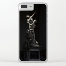 Florence Statues Clear iPhone Case