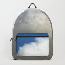 Grey Clouds Blue Sky Backpack