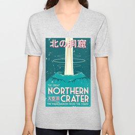 Final Fantasy VII - Great Northern Crater Unisex V-Neck