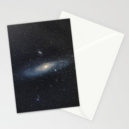 Andromeda galaxy Stationery Cards