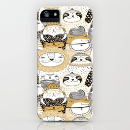 Urban Animals iPhone Case
