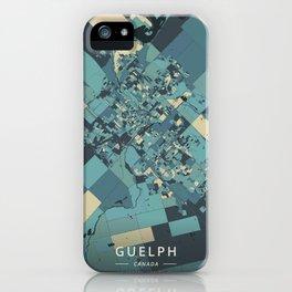 Guelph, Canada - Cream Blue iPhone Case