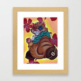 Jacoby Cat Framed Art Print