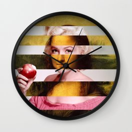Mona Lisa & Marylin Wall Clock
