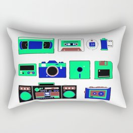 80s, 90s and beautiful old time Rectangular Pillow