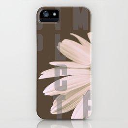 Daisy SIMPLICITÉ iPhone Case