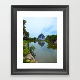A Thai Palace Framed Art Print