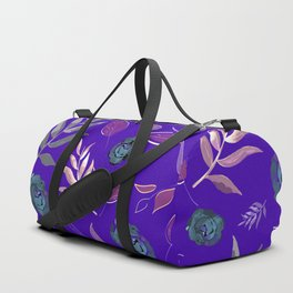 Simple and stylized flowers 13 Duffle Bag