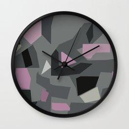 Langley Pink Wall Clock