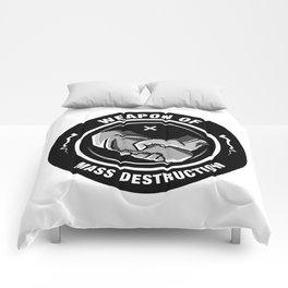 Weapon of Mass destruction Comforters