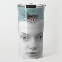 A girl who lived in a cloud Travel Mug
