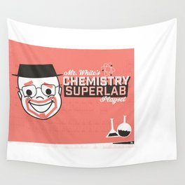 Walter White's Chemistry Lab Playset Wall Tapestry