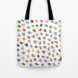 Marathon Animals Tote Bag