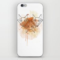 foxes iPhone & iPod Skins featuring foxes by naidl