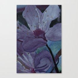 Sunset Bloom Canvas Print