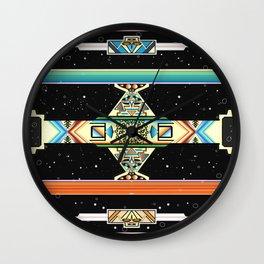 Espacio Serape Wall Clock