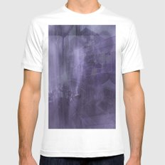 Ecphory MEDIUM White Mens Fitted Tee
