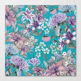FLORAL GARDEN 10 Canvas Print