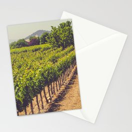 Vineyards 3 Stationery Cards