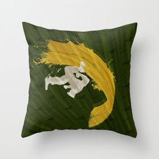 For Charlie (Homage To Guile) Throw Pillow