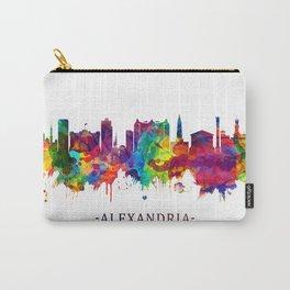 Alexandria Egypt Skyline Carry-All Pouch