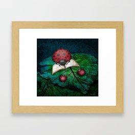 Bedtime Ladybugs Framed Art Print